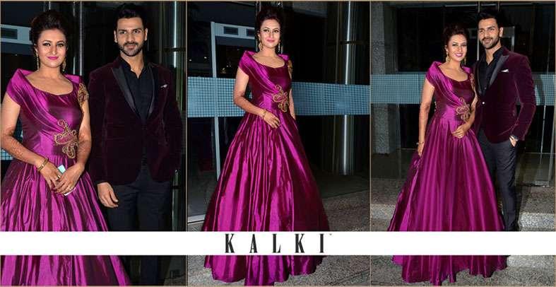 Divyanka Tripathi Sizzles in the KALKI gown!