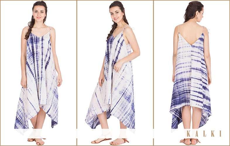 kalki light weight cotton dress