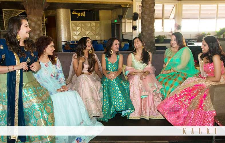 kishwer merchant kalki bridesmaid shoot