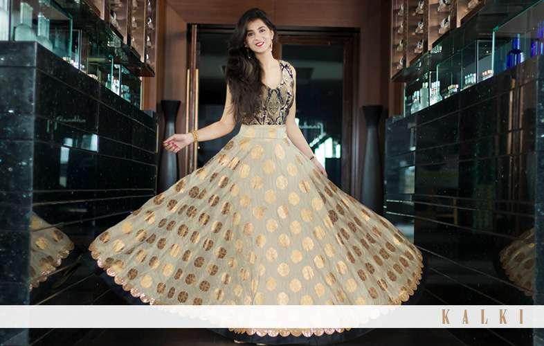 shaurya sanadhya in kalki outfit