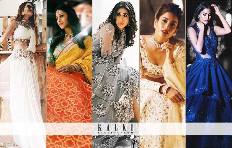 TAKE A LOOK AT KALKI'S 'EYE-POPPING' DESIGNS FROM BHARTI SINGH'S GOA WEDDING