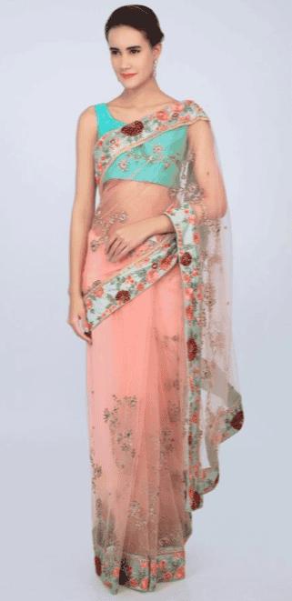 Blooming Pretty Saree