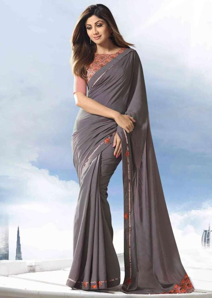 grey-cotton-saree-with-rose-pink-raw-silk-blouse-piece-492773_2__1