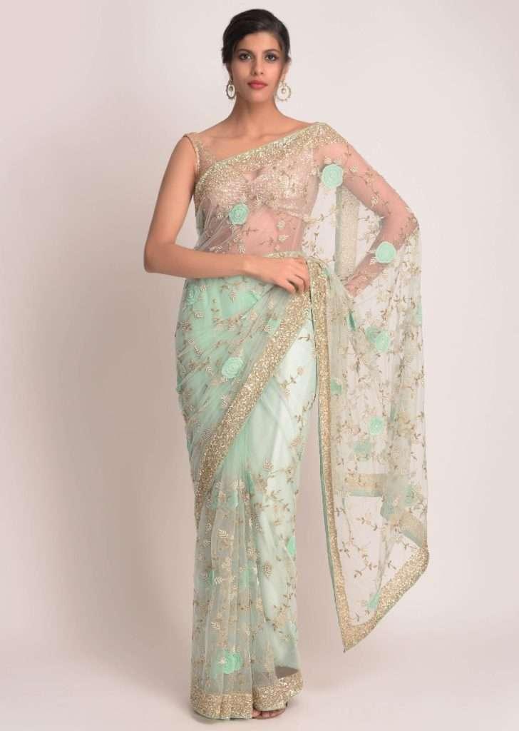mint-green-saree-in-net-with-3d-floral-applique-online-kalki-fashion-481190_4_