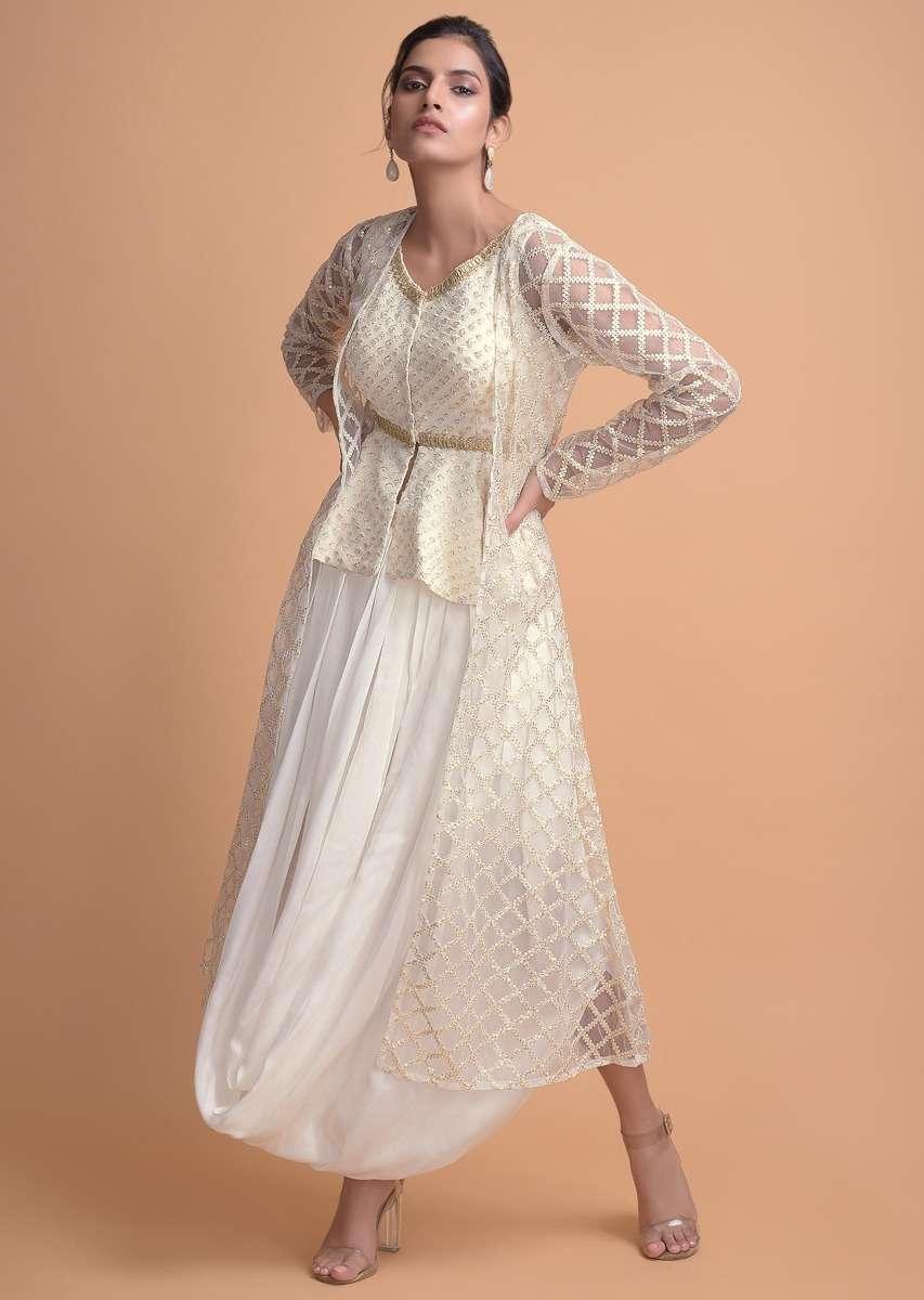 daisy-white-sleeveless-peplum-top-and-cowl-drape-skirt-with-a-long-net-jacket--online-kalki-fashion-492538_7_