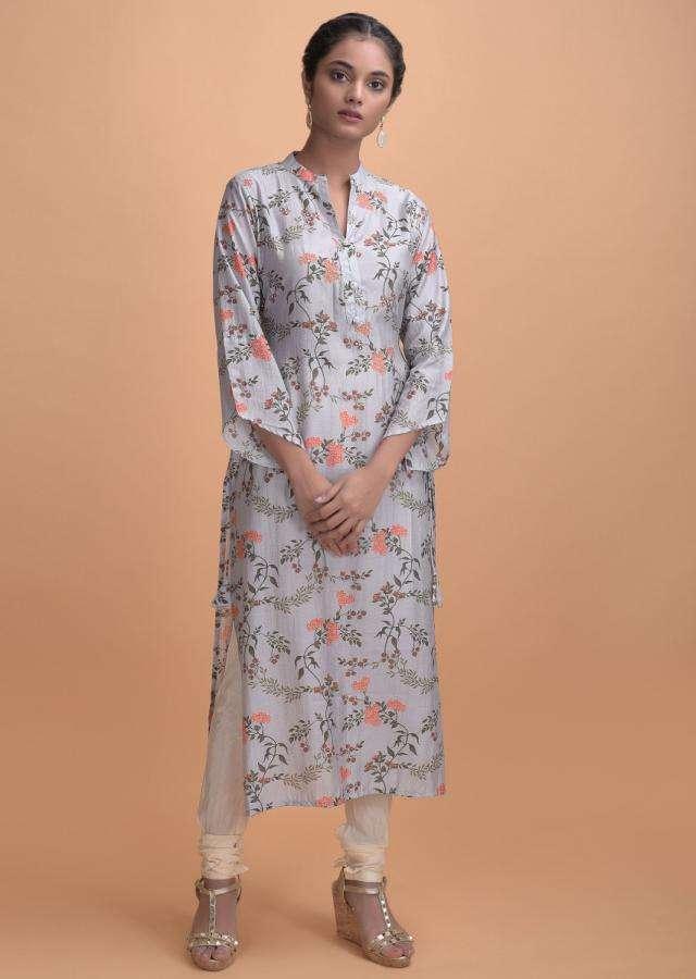 dolphin-grey-kurti-in-cotton-with-floral-print-online-kalki-fashion-j02610308svay_2_