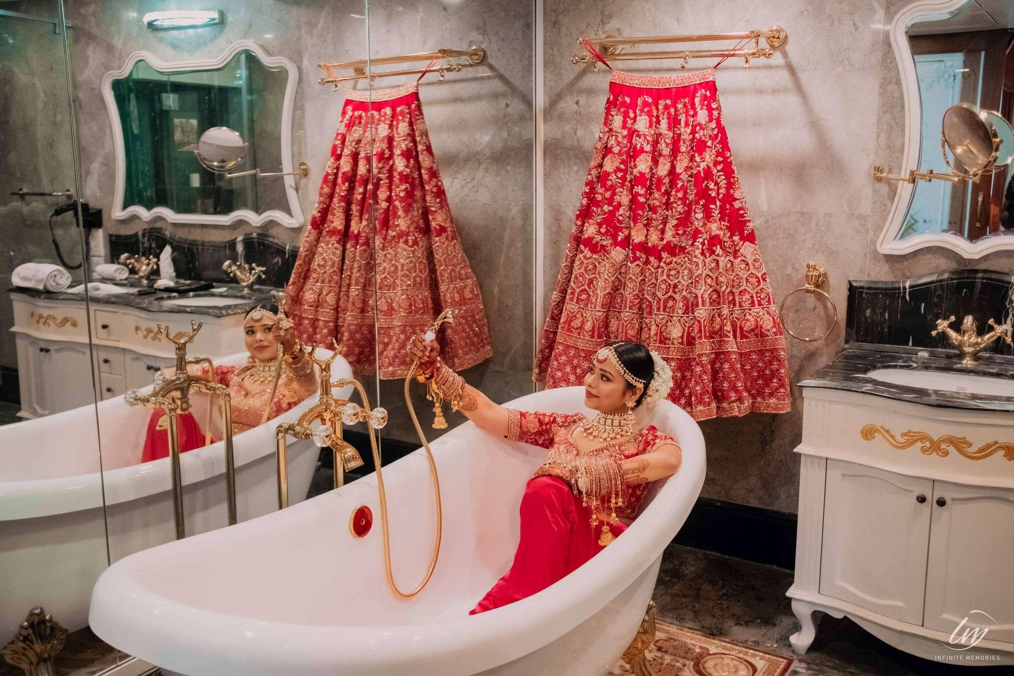 Pragya painted the town red in her gorgeous wedding lehenga!
