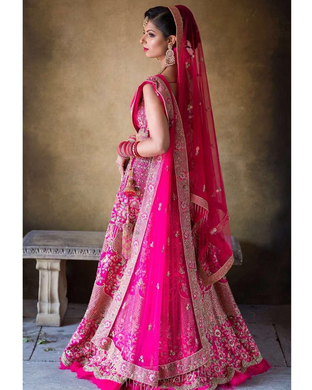 Rakhee found her wedding dress on Instagram!