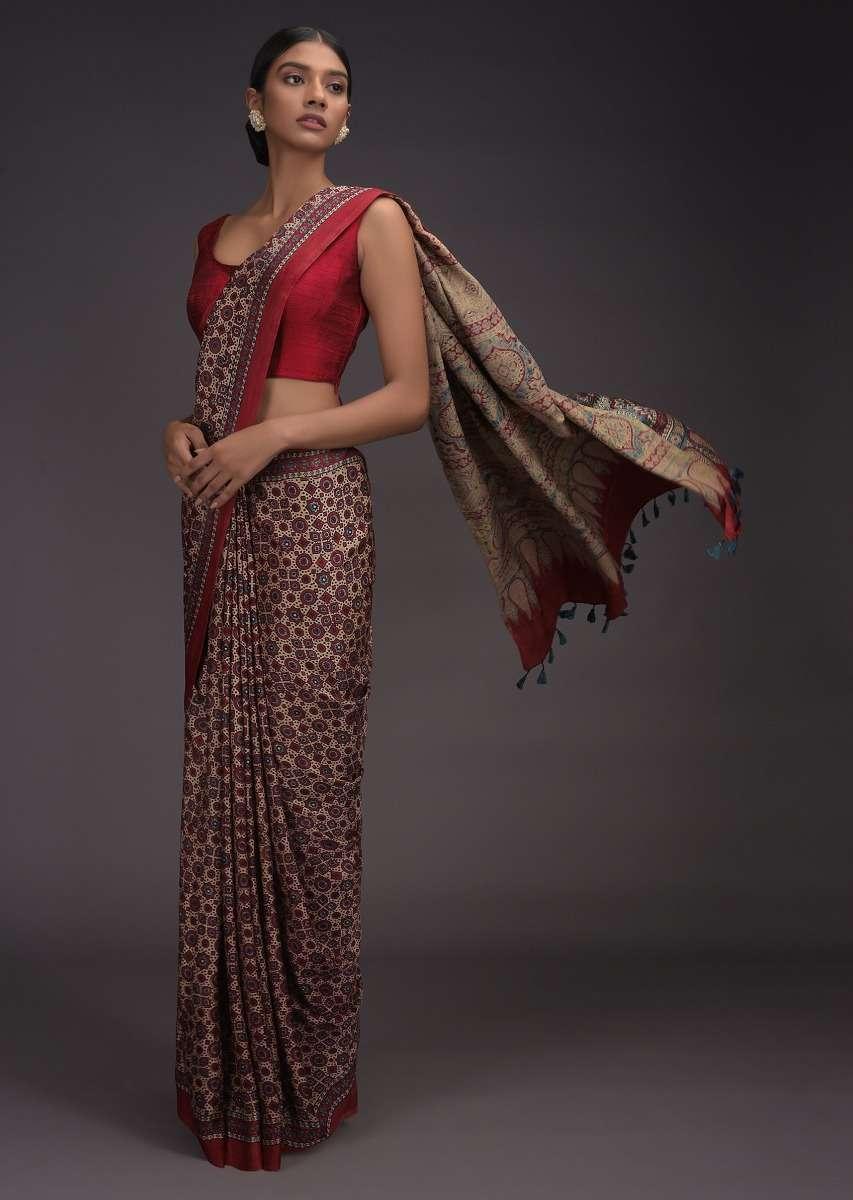 saree for makar sankranti