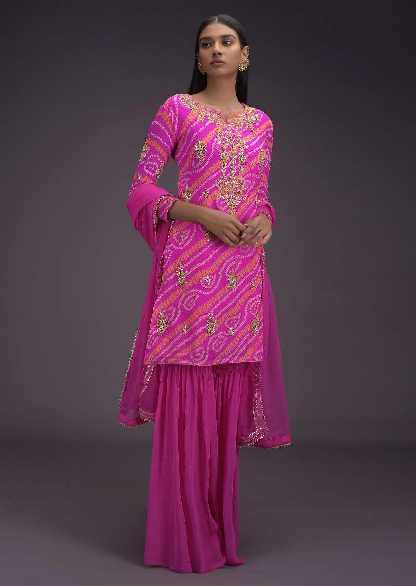 bubblegum-pink-sharara-suit-with-bandhani-print-and-gotta-embroidered-buttis-online-kalki-fashion-j002b305y-sg32788_7_