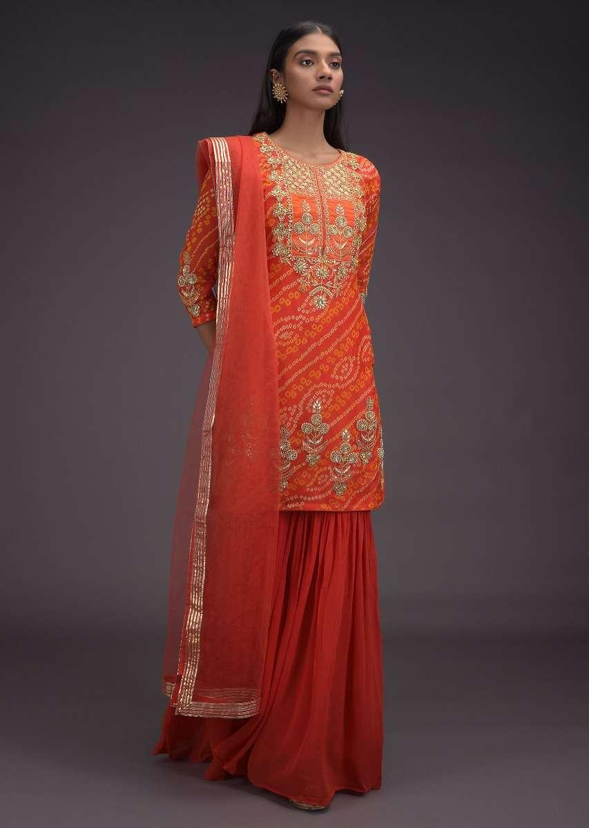 tiger-orange-sharara-suit-in-georgette-with-bandhani-print-and-gotta-work-in-floral-pattern-online-kalki-fashion-j002b303y-sg32786_7_